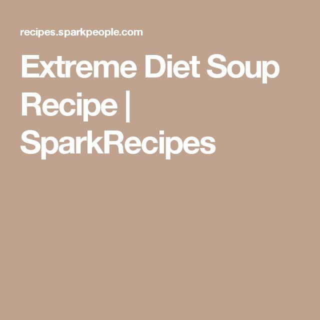 Extreme Diet Soup Recipe   SparkRecipes