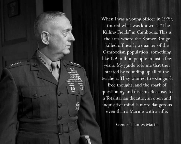 General James Mattis USMC                                                                                                                                                                                 More