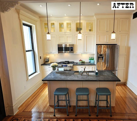 The barcelona home of minotti london 39 s creative director for Brownstone kitchen ideas