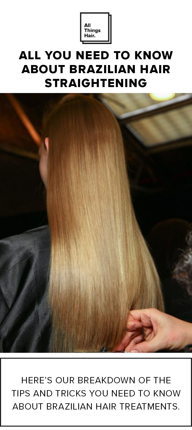 Straight perm edinburgh - Thinking About Straightening Your Hair Learn More About The Trendy Brazilian Hair Straightening Technique And If It Can Work For You