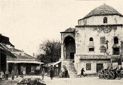 Η οικία Τσισταράκη γνωστότερη σαν το τζαμί στην πλατεία στο Μοναστηράκι 1900