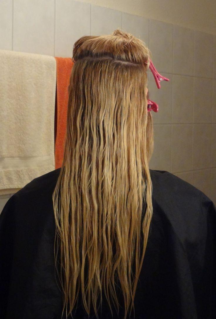 Do it yourself Stufenschnitt für lange Haare 1