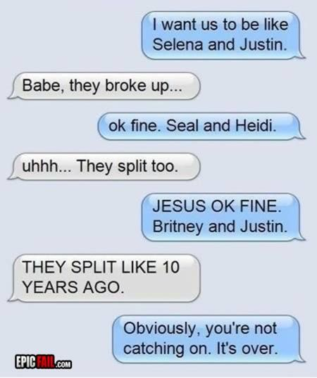 12 Hilarious Breakups via Email and Text - Oddee.com LOL!