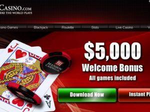 Big Welcome Bonus At Mansion Casino