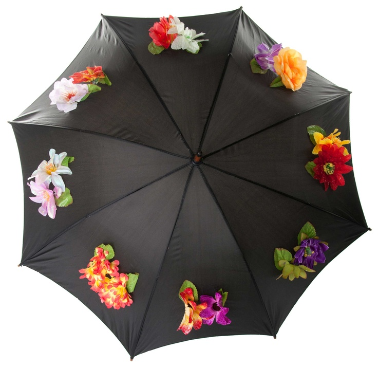 Exclusive Flower Umbrella by NancyPop London, check out at http://www.amazon.co.uk/gp/product/B008XG8DNY
