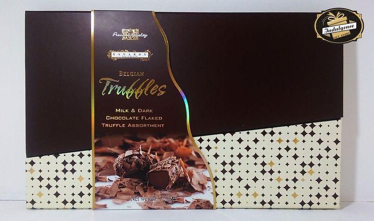 Gavarny Belgian Truffles milk & dark chocolate flaked assortment gift box 525g #Ferrero