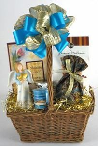 50th Wedding Anniversary Angel Gift Basket