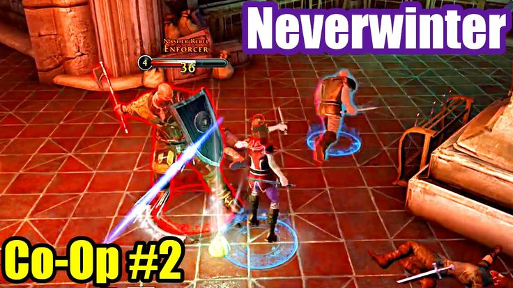 Neverwinter - XBox One MMORPG - Co-Op Gameplay #2