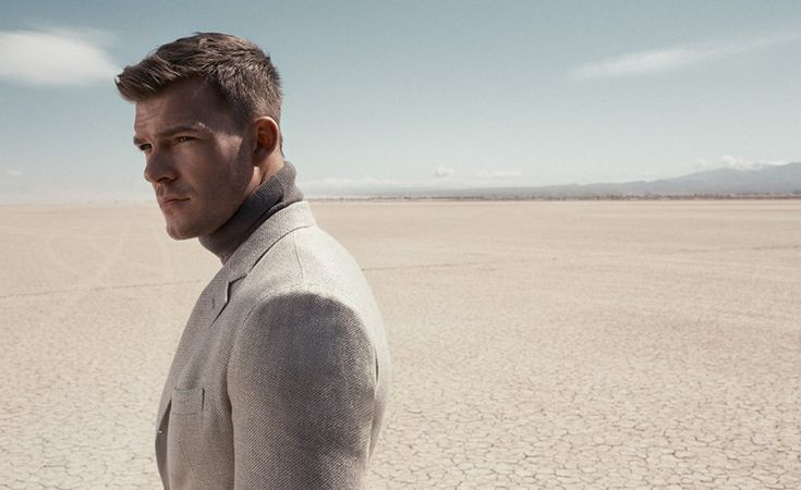Alan Ritchson Suits Up for Mr Porter by Kurt Iswarienko