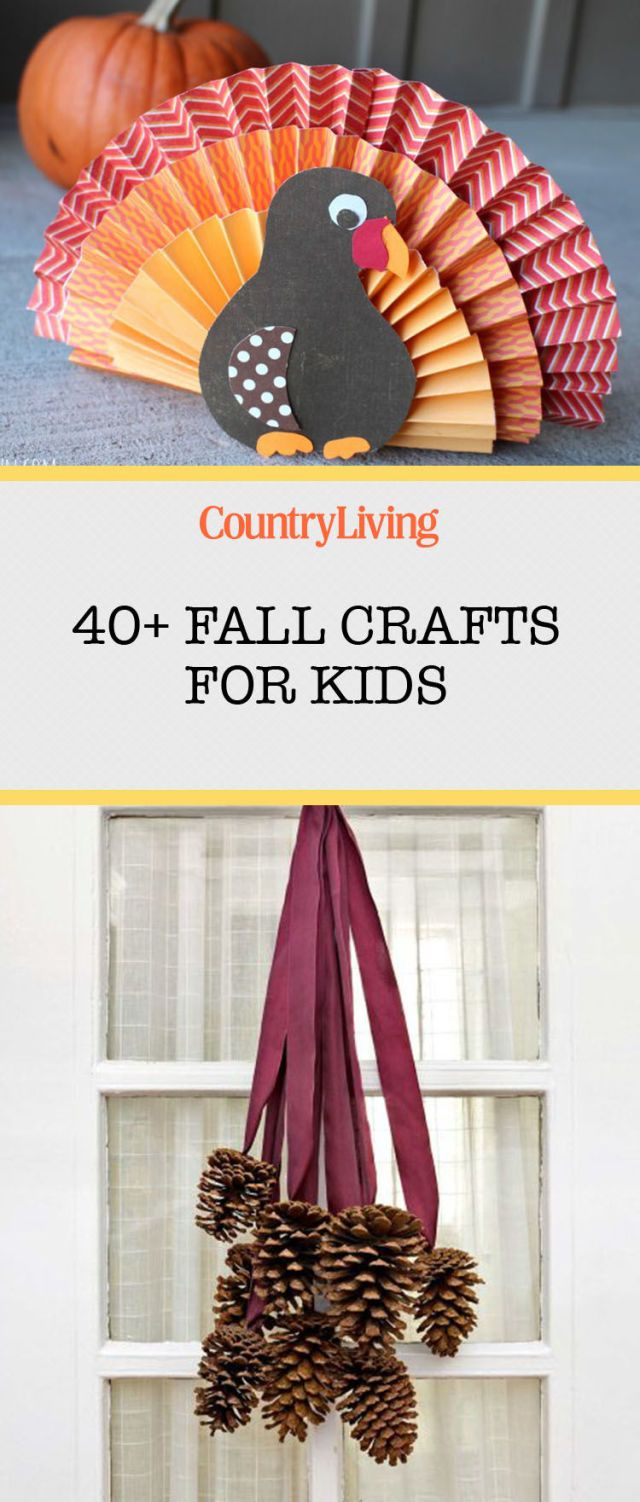 Save these fall craft ideas for later by pinning this image and follow Country Living on Pinterest for more.