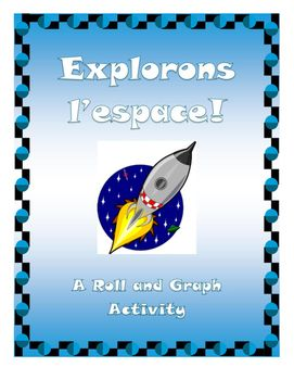 It's time to go on a space expedition!Included:Space themed die templateGraphing sheetThis is a very simple, beginner graphing activity!The students simple roll the dice, and then record the results with manipulatives or bingo dabbers!This can be a solo activity or a small group activity.Ways to play:- Students can try and predict which image will get to 10 first- Students can play in pairs to see you can get to 10 or even fill up their card first!Please Rate and Enjoy!