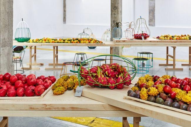 The Marni fruit market at Milan - Vogue Living