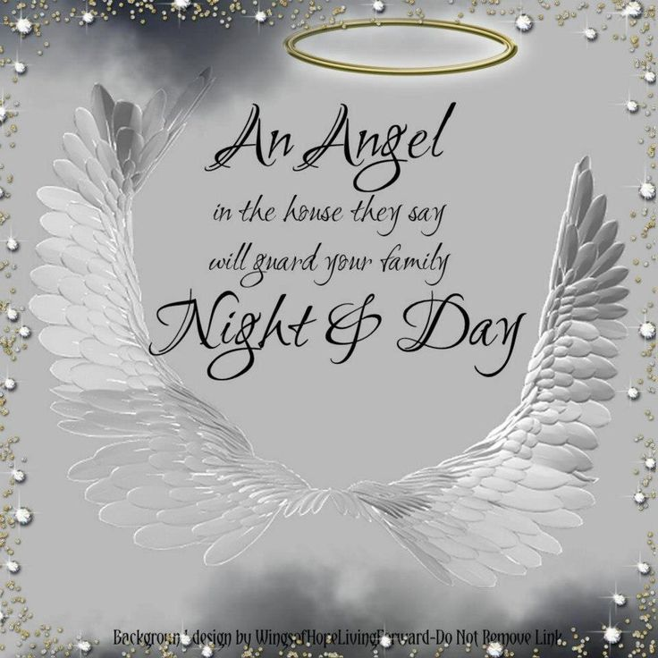 May you feel the beauty of the angels holding you in their wings... #angels
