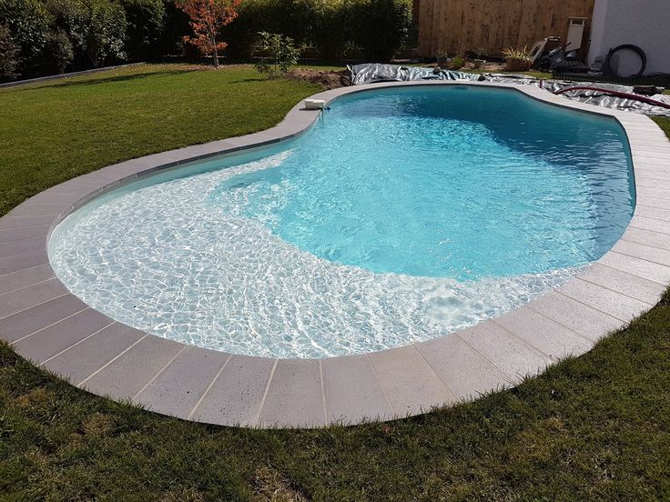 11 best Piscines images on Pinterest Flat, Stone and Places - piscine en bloc a bancher