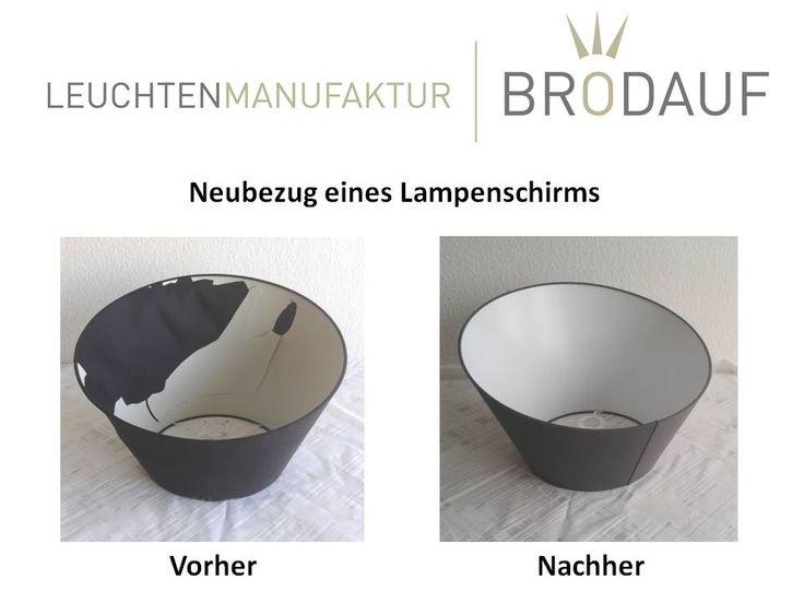 wir beziehen ihren alten und kaputten lampenschirm neu neubezug von lampenschirmen. Black Bedroom Furniture Sets. Home Design Ideas