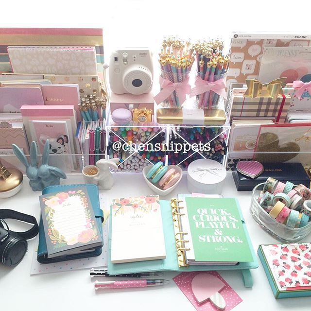 Image result for pretty gold box to store stationery