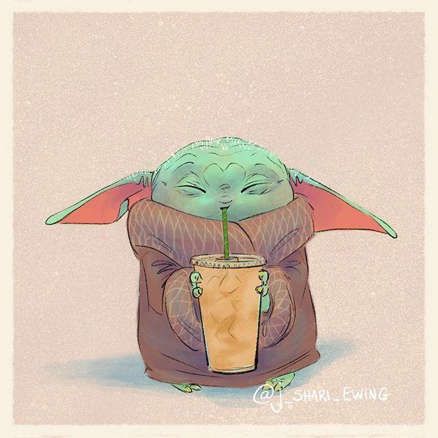 J Shari Ewing Instagram Photos And Videos Yoda Art Star Wars Art Yoda Wallpaper
