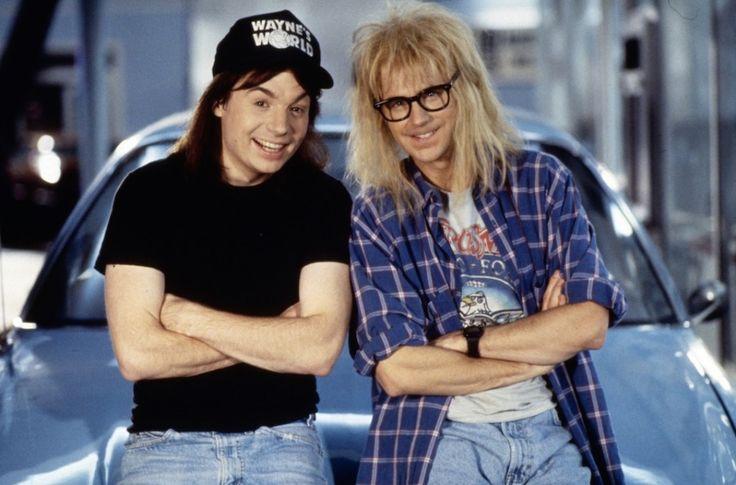 A quoi ressemblent désormais les acteurs du film Wayne's World ? - http://www.leshommesmodernes.com/devenus-acteurs-waynes-world/