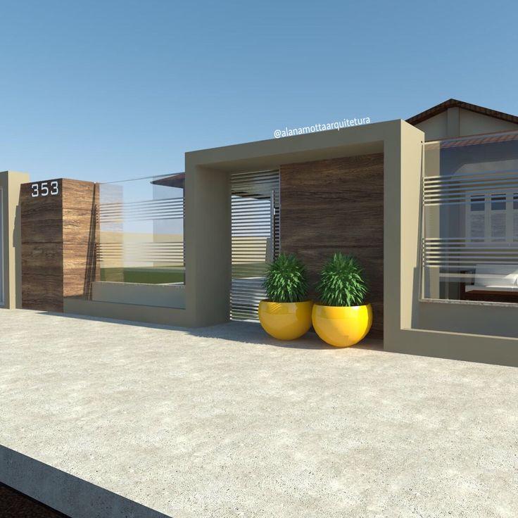 Proposta de projeto de Muro pra Residência Térrea