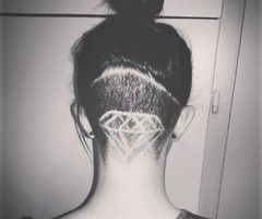 nape undercut designs - Google Search