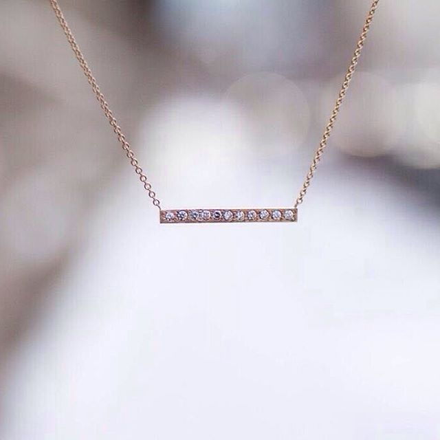 Stunning upcycled gold and diamond necklace