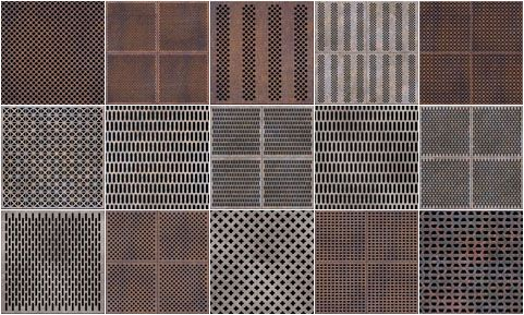 Perforated Metal Materials 13 262 Interior Pinterest
