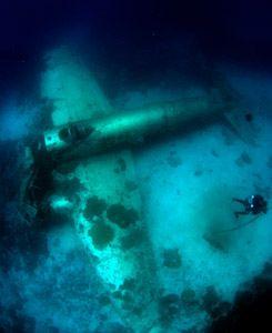Truk Plane Wreck