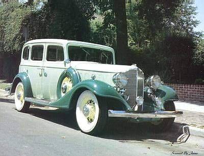 1933 Buick 4 Door Sedan Series 57