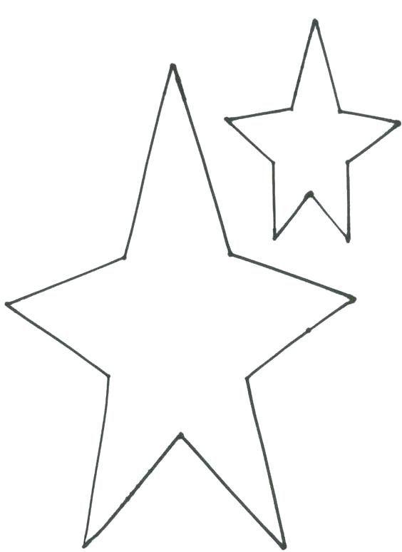 Big Star Stencil Printable Best Photos Christmas Crafts