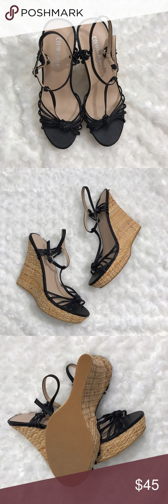 Colin Stuart Sandal Wedges Great Sandal Wedges for spring and summer! In excellent like new condition! Colin Stuart Shoes Wedges