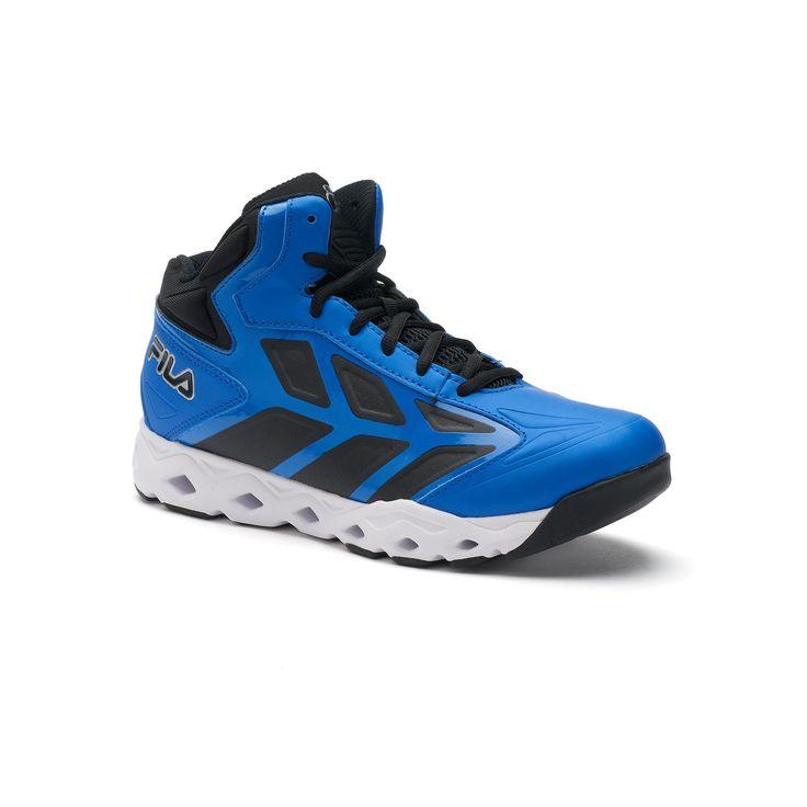 Fila® Torranado Men's Basketball Shoes, Size: 10.5, Blue (Navy), Durable