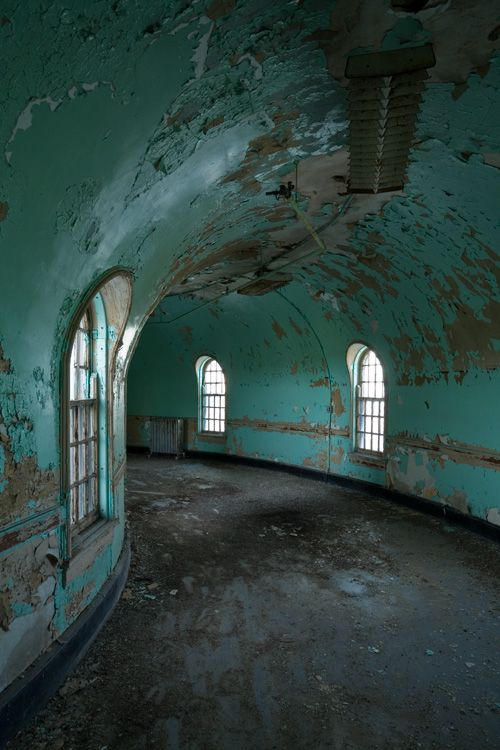 Peeling paint & abandoned places - photographer Richard Nickel Jr., a self described 'Guerrilla Preservationist'