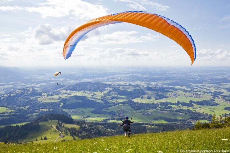 Gleitschirmfliegen im Inntal und Chiemgau