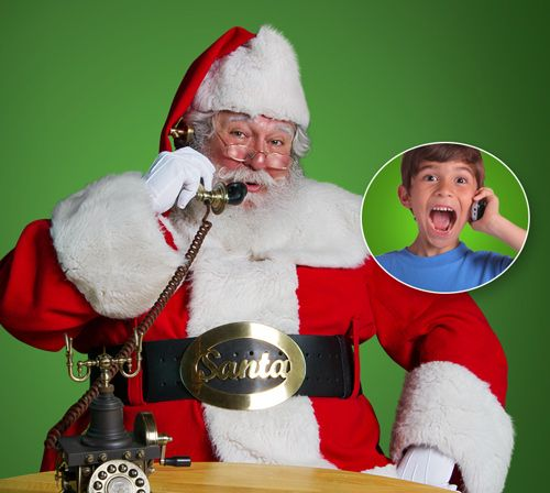 The must have FREE Christmas App of the year! Guaranteed to amaze your child! Get a personalized call from the real Santa, today!
