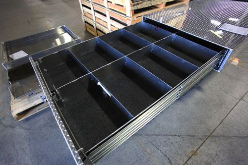 25 best ideas about truck bed tool boxes on pinterest truck bed drawers truck bed camping - Truck bed box drawers ...