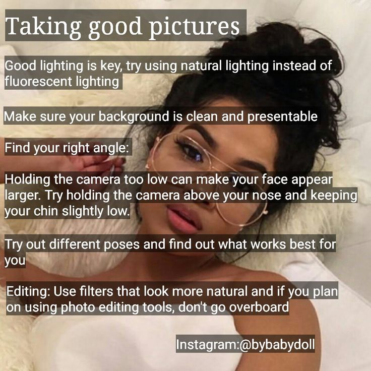 taking good pictures