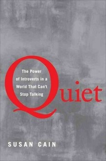 """From Gandhi to Joe DiMaggio to Mother Teresa to Bill Gates, introverts have done a lot of good work in the world. But being quiet, introverted or shy was sometimes looked at as a problem to overcome."""