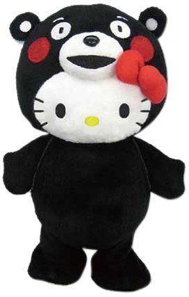 くまモン (熊本県PRマスコットキャラクター) キグルミキティ 立ちおしゃべりぬいぐるみ:Amazon.co.jp:おもちゃ