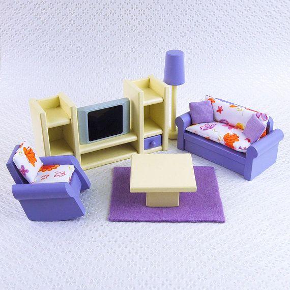 Best 25+ Dollhouse Furniture Sets Ideas On Pinterest