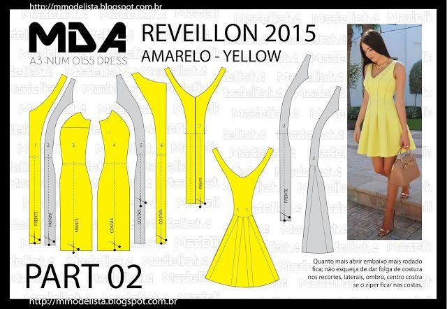 ModelistA: A3 NUM o 0155 DRESS - 2A PART