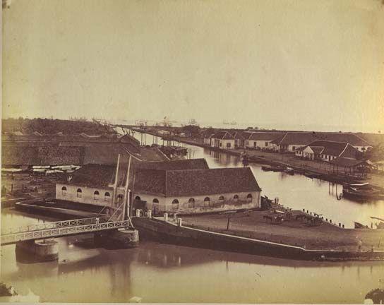 Batavia harbour canal - Batavia (Nederlands-Indië) - Wikipedia