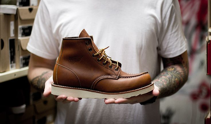 Anchor Division » Vintage Inspired Menswear and Fashion » Red Wing Lineman Boots