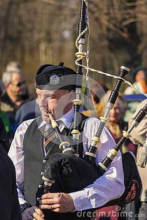 St. Patrick's Day Parade on March. Senior bagpiper dressed in traditional Irish uniform performs at the 2nd St. Patrick's Day Parade on March 16, 2014 in Bucharest, Romania. Download this Editorial Photography of Bagpiper At St. Patrick's Day Parade for as low as 0.68 lei. New users enjoy 60% OFF. 22,147,250 high-resolution stock photos and vector illustrations. Image: 38908527
