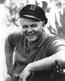 """Alan Hale, Jr. (shown as Skipper in """"Gilligan's Island""""). During World War II, Hale, Jr., enlisted in the United States Coast Guard."""