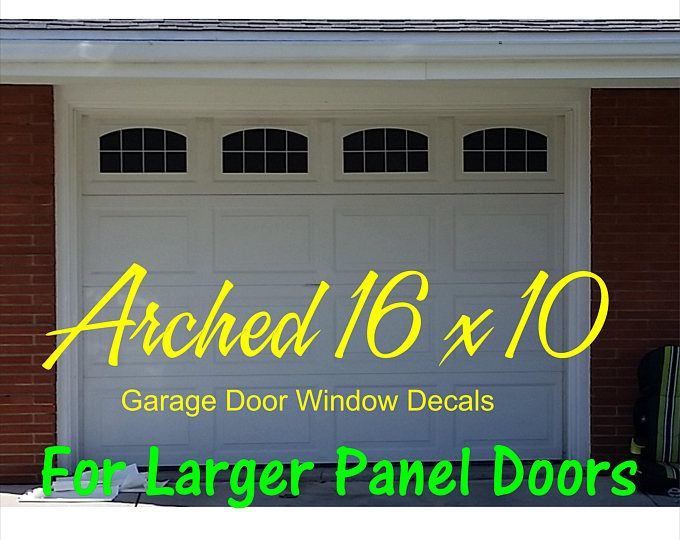 Vinyl Faux Carriage Garage Door Etsy Garage Doors Faux Garage Door Windows Garage Door Windows