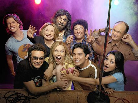 That 70s show, season 8 photo. Never liked Randy, or whatever his name was.