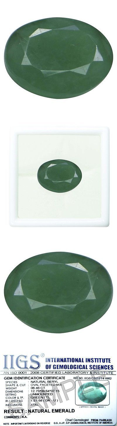 Other Emeralds 164398: 4.5 Ct./5.00 Ratti Pure Iigs Certified Emerald Panna Stone Agj1419 BUY IT NOW ONLY: $77.24