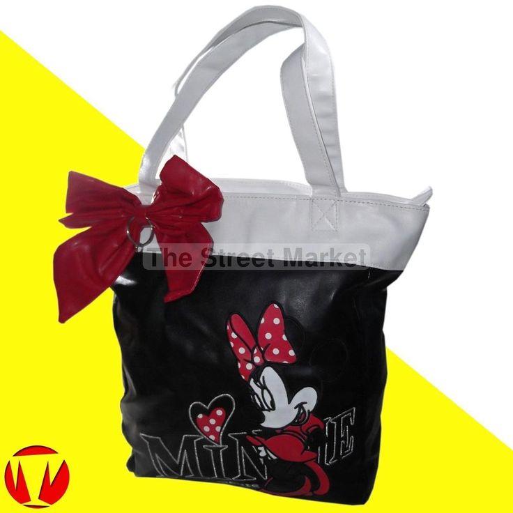Borsa da donna a mano spalla Minnie Mouse Disney borsetta