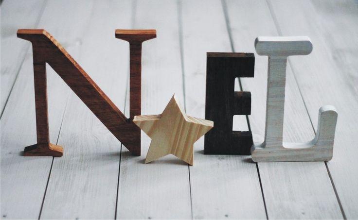#niezchinzpasji NOEL+-+napis+drewniany++w+fandoo+na+DaWanda.com