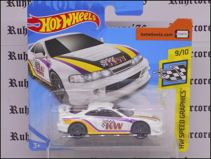 Hot Wheels Custom Honda Acura Integra GSR 2001